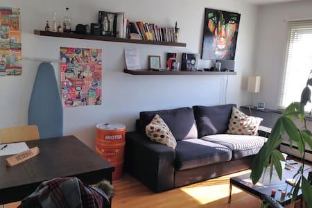 Cozy Apt. 10mn from town center, next to metro - Montréal - Huoneisto