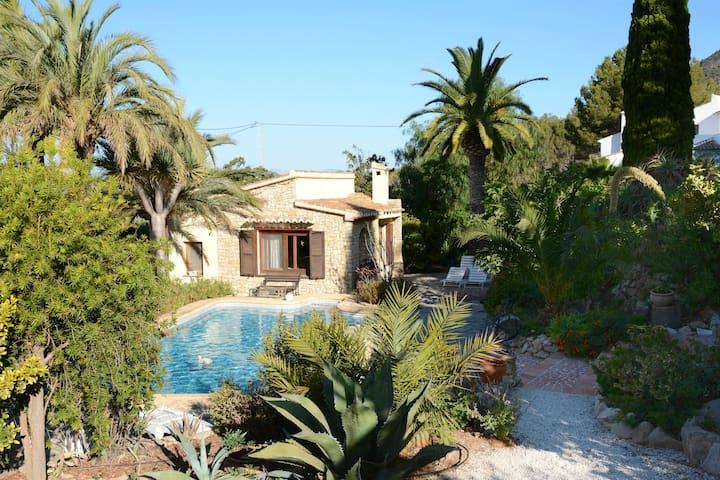 Romantisches Haus mit Privatpool - Javea - Casa
