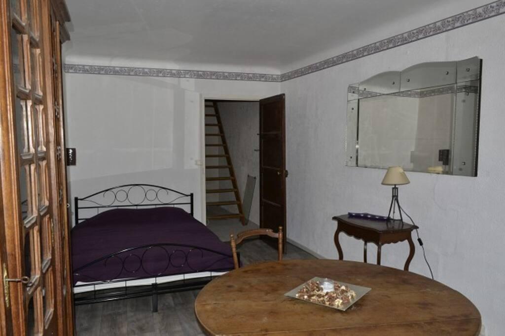 Deuxième étage : Chambre