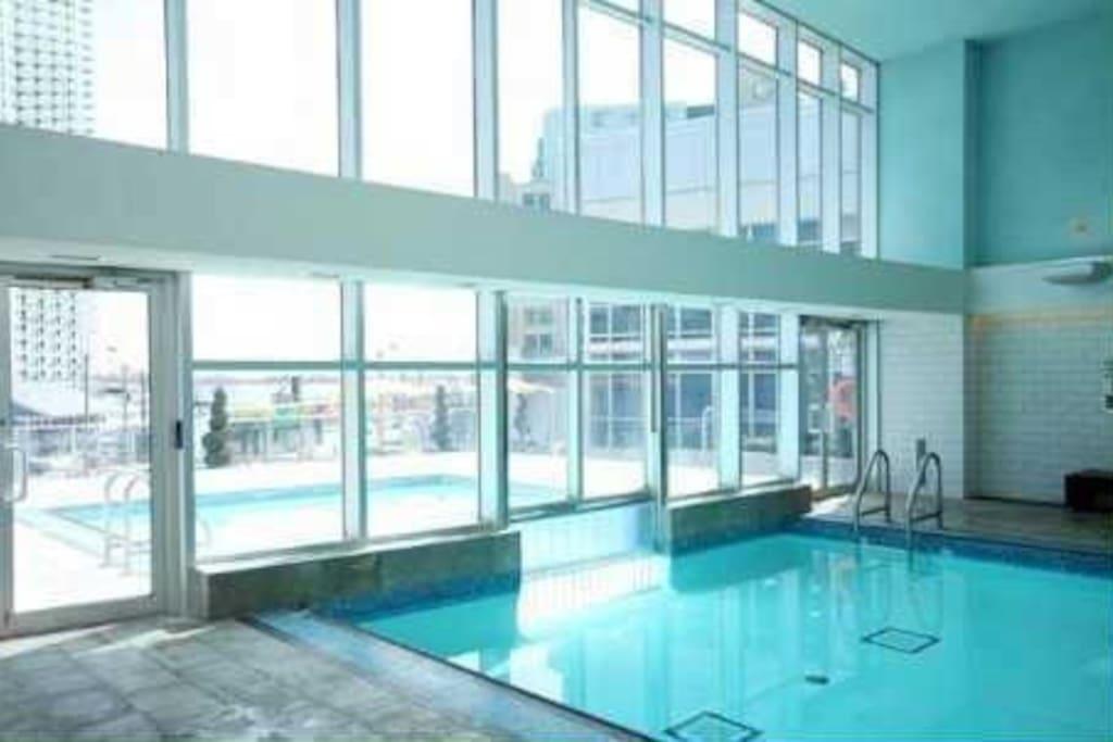 Indoor / Outdoor Pool 1