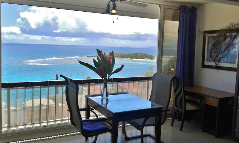 Le Panorama de l'îlet (Vue imprenable sur la mer)