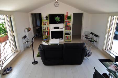 Minimal Loft with Park view/Terrace - Roma