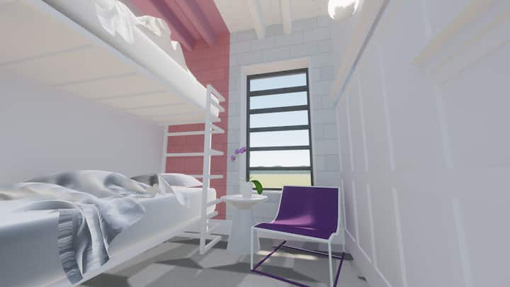 The Gallatin (Bunk Room 317) Close to Downtown!