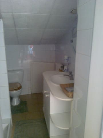 Grande chambre meublée avec salle d'eau - Simiane-Collongue