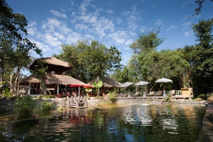 Zen Namkhan - a Little Paradise - Ban Xieng Lom - Haus
