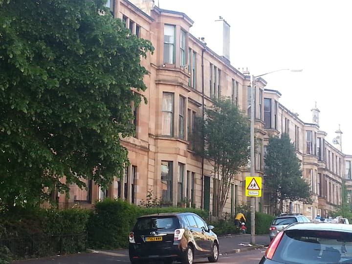Traditional South Glasgow tenement
