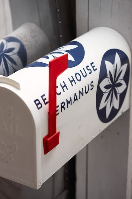 """Beach House"" Rooftop Airstream Trailer Postbox"