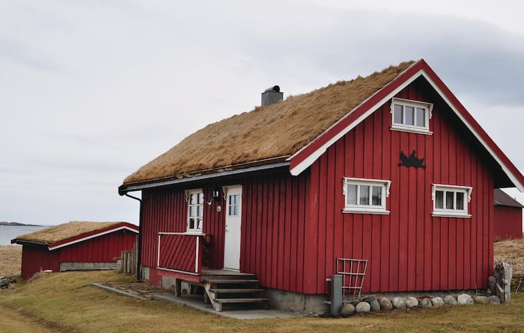 Holiday cottage with 2 bedrooms on 50 m² in Bøstad