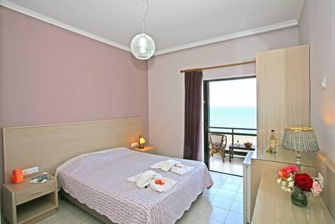 Beachfront Cretan Sea-Double