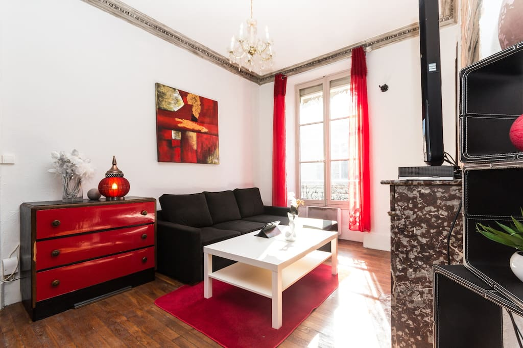 renovated flat grenoble downtown apartments for rent in grenoble rhone alpes france. Black Bedroom Furniture Sets. Home Design Ideas
