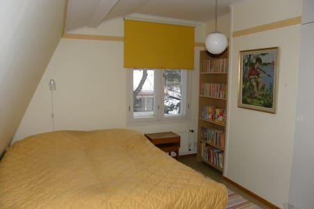 2 bedrooms in a wooden house near the Häme castle - Hämeenlinna - Rumah