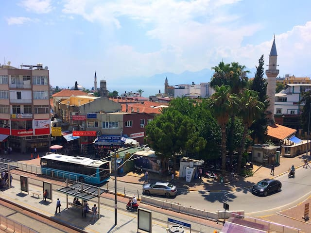 Antalya City Centrum Sea Wiew / Deniz Manzaralı Ev
