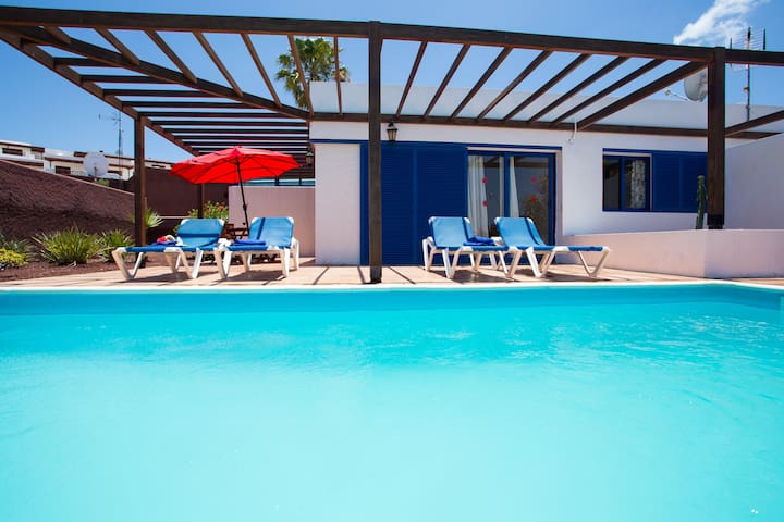 Villa Private Heated Pool and Wifi - Playa Blanca - Vila