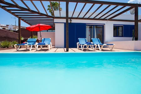 Villa Private Heated Pool and Wifi - Playa Blanca - Villa