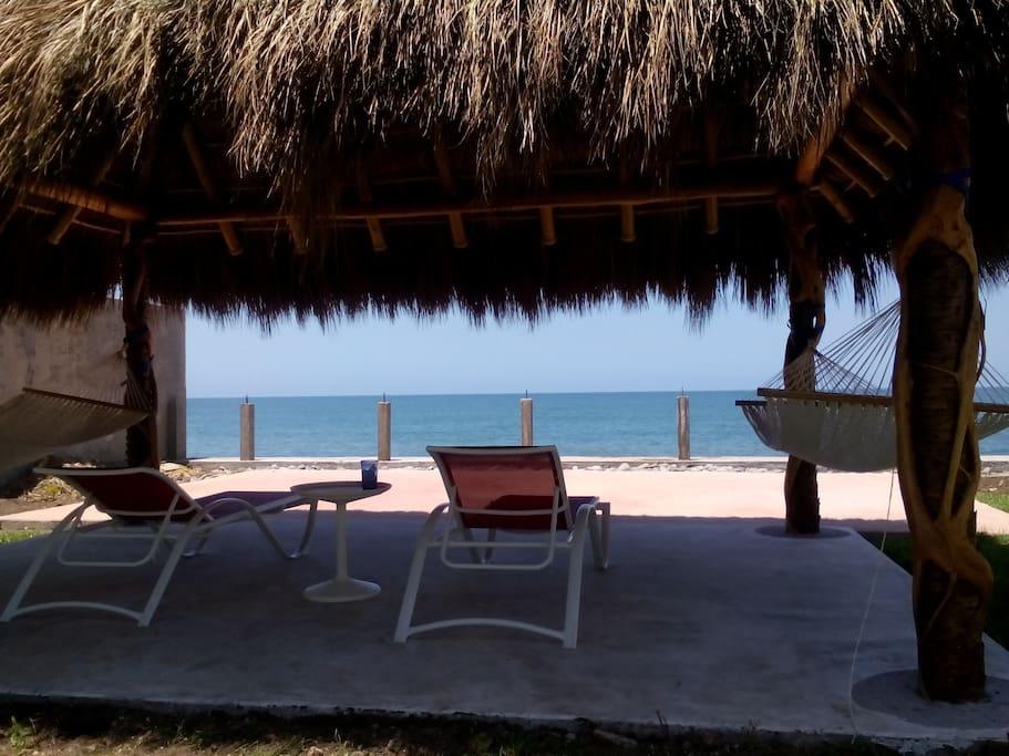 Seaside Palapa