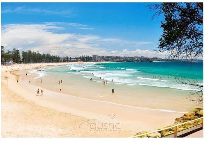 Private Studio near Manly beach and B-line to CBD