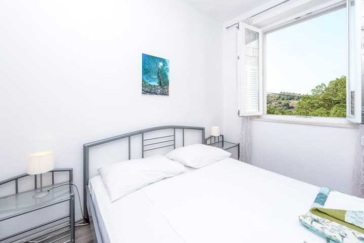 En-suite double room with pool access - Cavtat - Casa