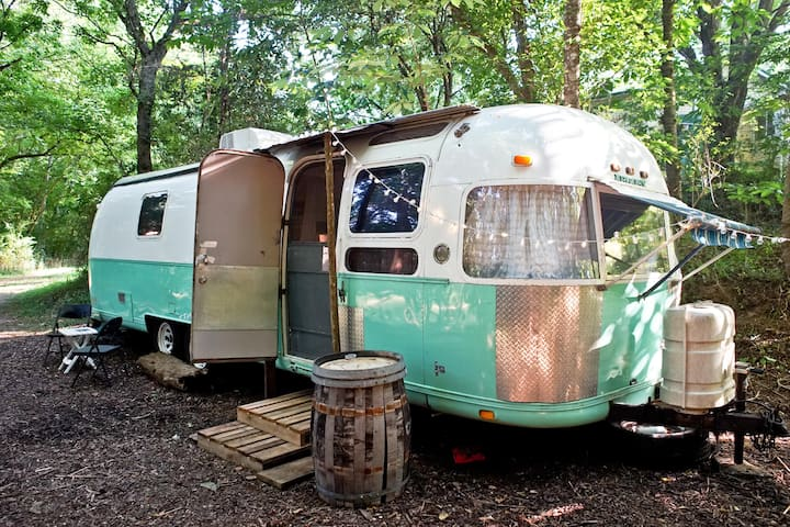 1978 Airstream Glamping - Appalachia Hemp Farm