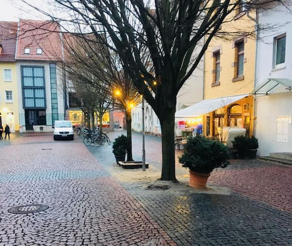 cozy flat in the historic center of Göttingen