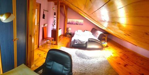 Apartament na poddaszu
