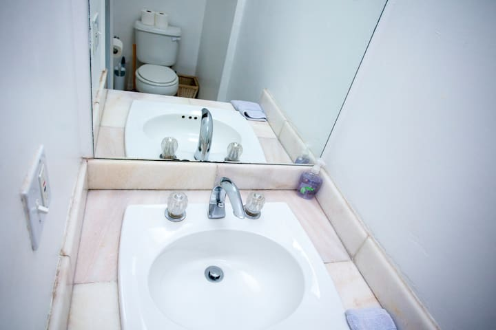 sink and toilet