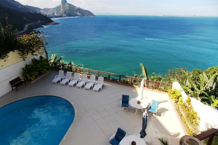 CARNIVAL AVAILABLE! MANSION 6 SUITES, OCEANFRONT! - Rio de Janeiro