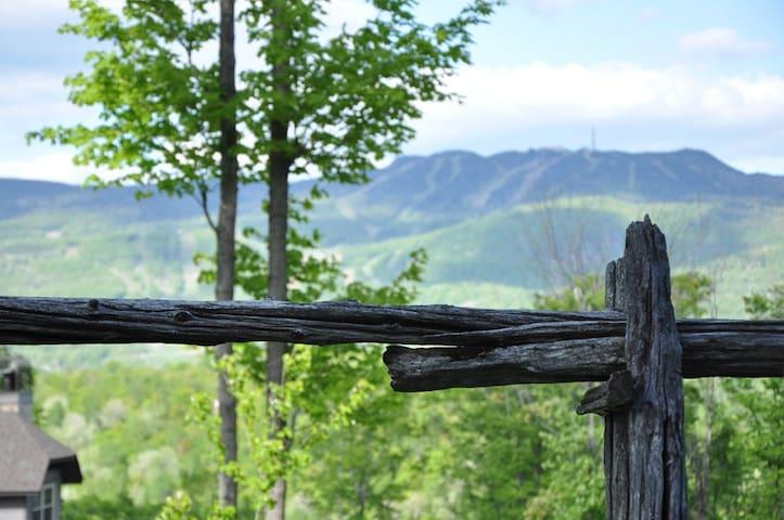 Splendid View mountain top WIFI Condo-Chalet