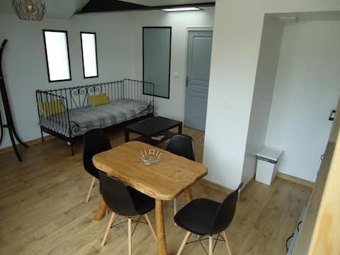 Contemporary apartment 40 sqm
