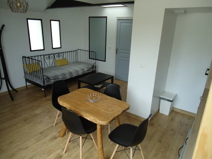 Appartement contemporain 40 m²