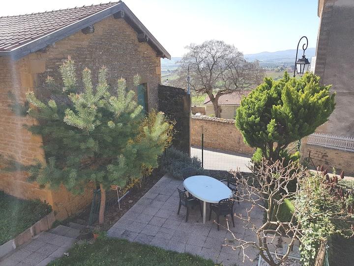 Maison de village a theize en beaujolais