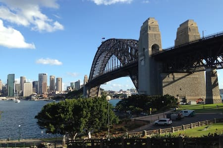 Cozy harbourfront apartment! - Kirribilli - Lejlighed