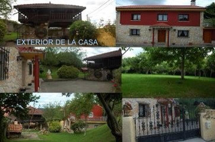 CASONA TÍPICA ASTURIANA CON HORREO - Pañeda Nueva - Dům