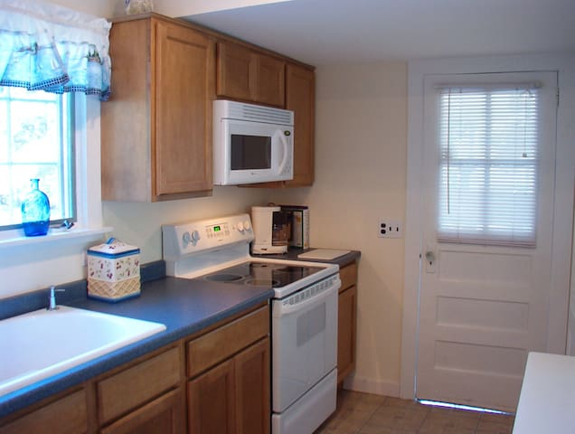 Kitchen Adjacent to Screened Porch