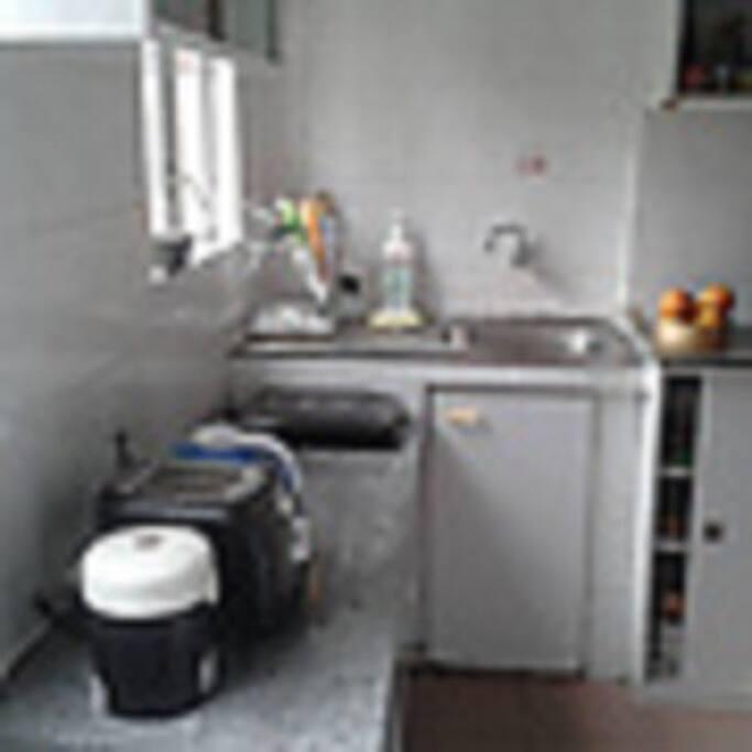 2nd half of BRIGHT 7 CHEERY kitchen.