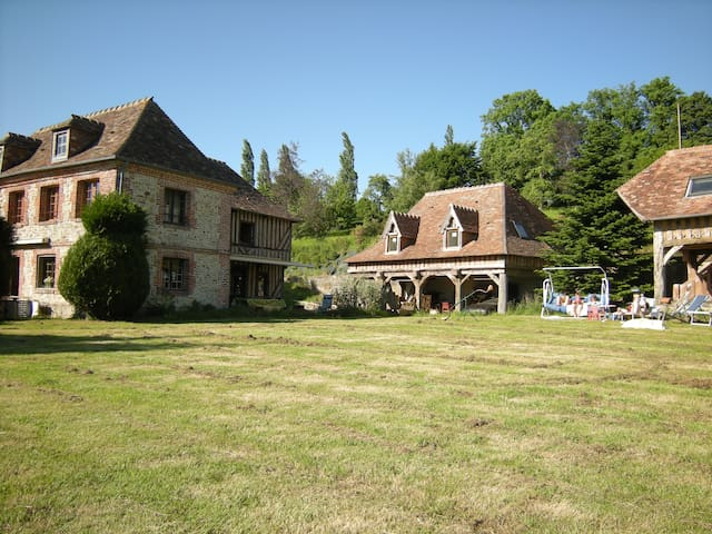 Splendid typical Norman set of houses