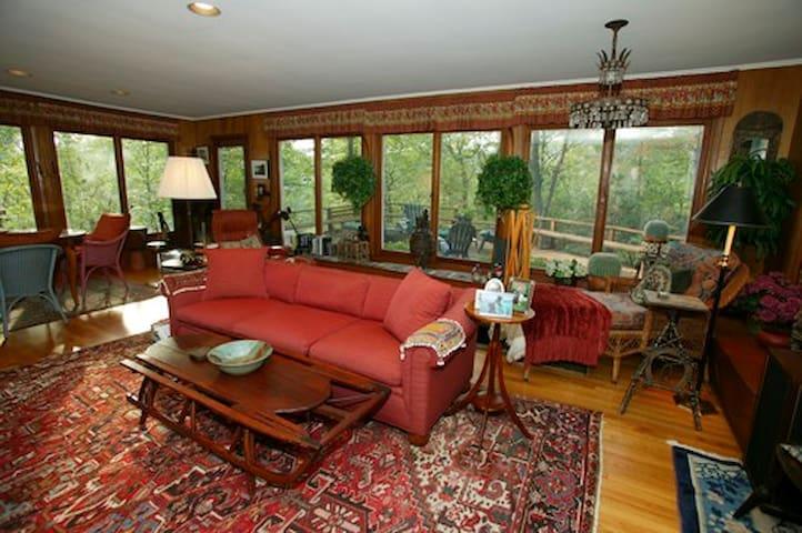 Hudson Valley Hilltop Retreat/Lake/ - Garrison - Casa