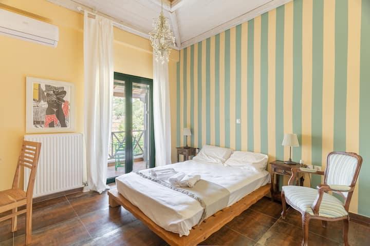 The Green Suite in the Villa Archangelos