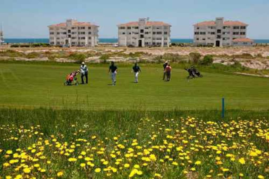 Cabchas de golf disponible para visitantes