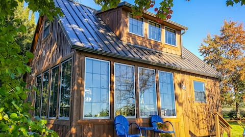 Skagit Valley Farmland View Cabin