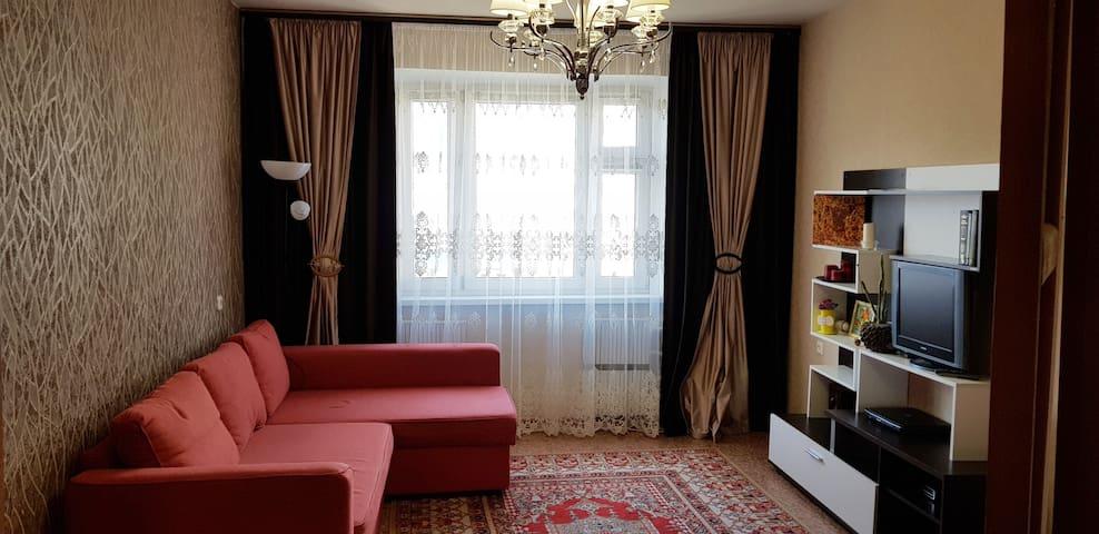 Уютная квартира с прекрасным видом и хорошей аурой