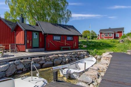 Unique accommodation on an island - Karlshamn N - Dům