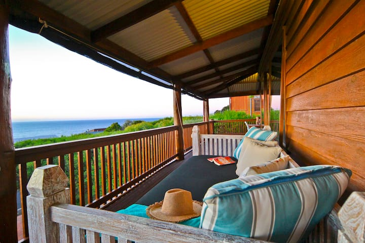 Stunning View from front deck Daybed