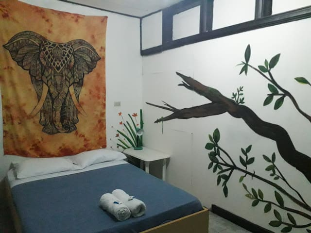 Double room in central popular hostel