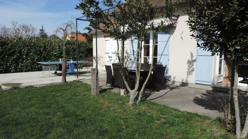 maison au calme tout confort - Loire à Vélo - - Poilly-Lez-Gien - Casa