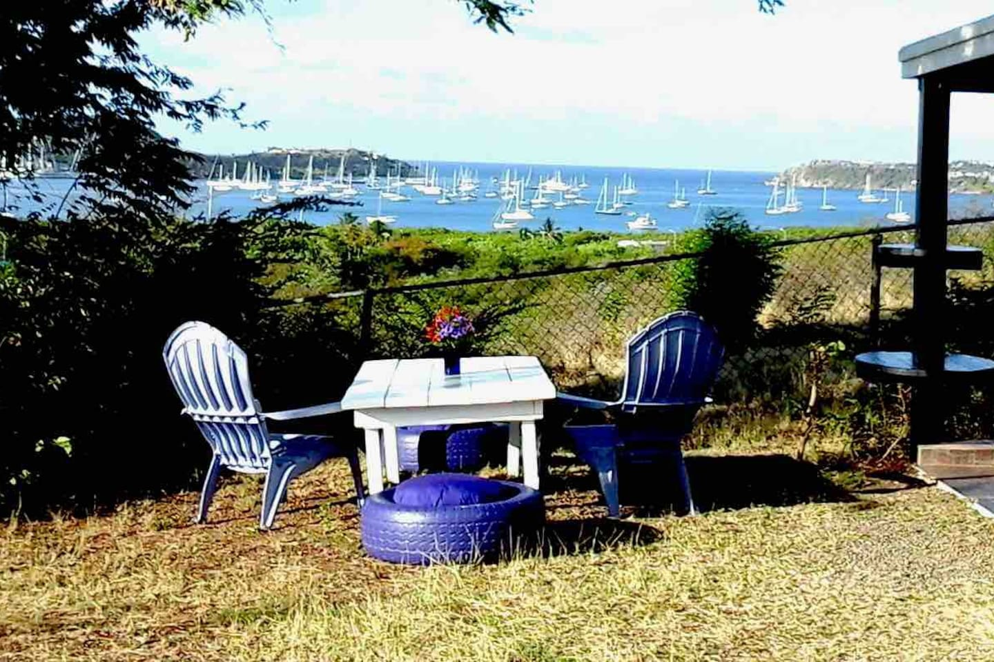 Tranquillity, Spectacular Views of Falmouth Harbour