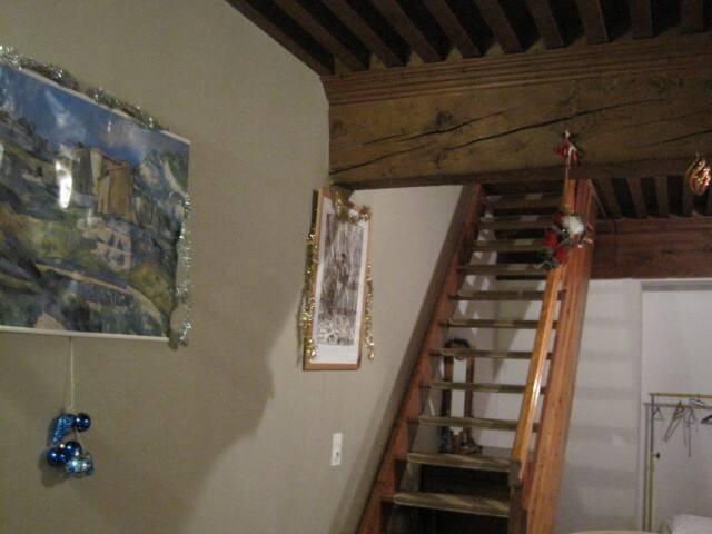 escalier pour chambre étage