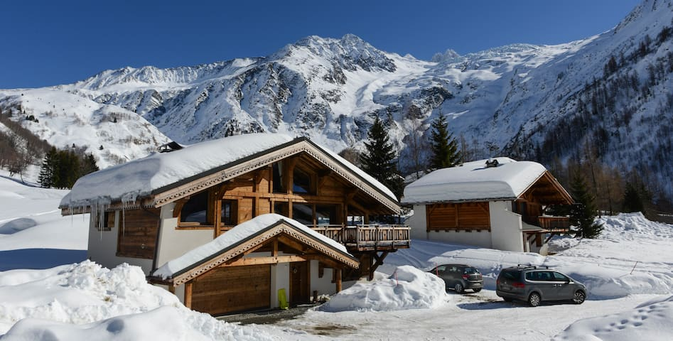 Chalet familial Montroc-Le tour vallée de Chamonix - Chamonix-Mont-Blanc - Faház