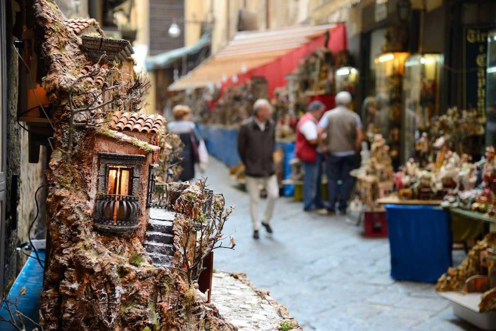 Centro storico di Napoli, dove è situato il nostro B&B