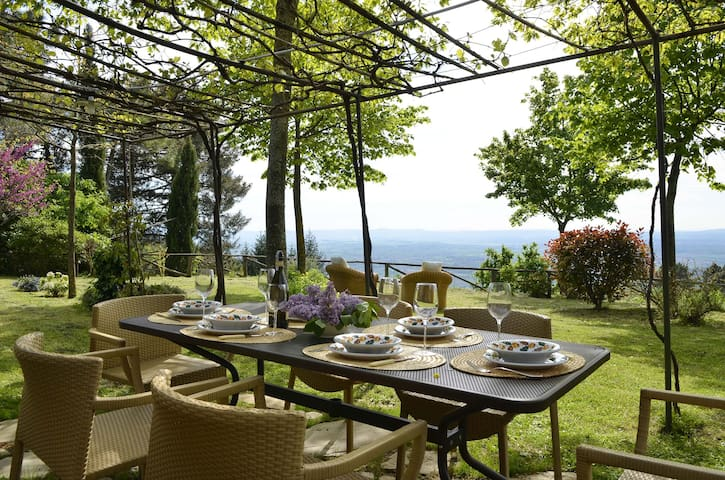 Tuscany House | View Breathtaking - Cortona - Huis