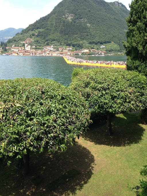 Our garden on the floating piers